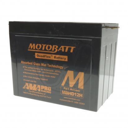 Picture of Battery Motobatt MBHD12H (Maintenance Free) Sealed