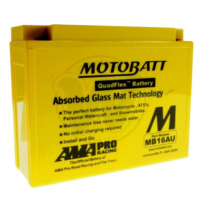 Picture of Battery Motobatt MB16AU (Maintenance Free) Sealed
