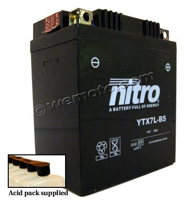 Picture of Honda SH 125 i 12 Battery Nitro