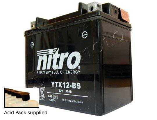 Picture of Daelim Roadwin 125 04-09 Battery Nitro