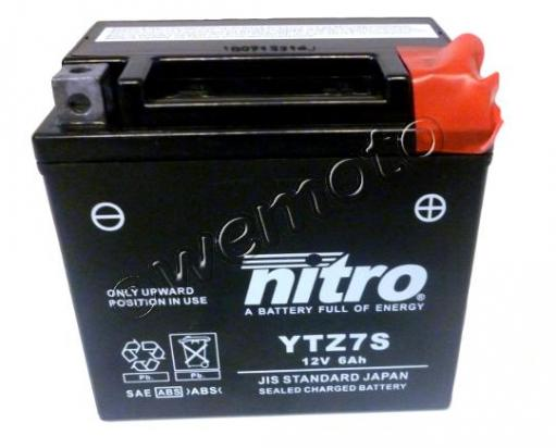 Picture of Honda NPS 50 Zoomer / Ruckus 15 Battery Nitro AMG Gel Super Sealed Maintenance Free