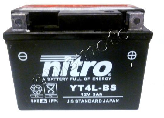 Picture of Yamaha YQ 50 Aerox/Aerox-R 99-05 Battery Nitro