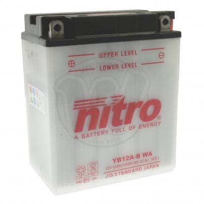Honda Xl 400 Vrvr Ii Transalp 94 96 Battery Nitro Parts At Wemoto