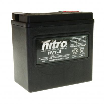 Harley Davidson Battery >> Nitro Harley Davidson Hvt08 N Battery Parts At Wemoto The Uk S No