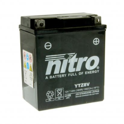 Picture of Nitro Gel Battery YTZ8V Factory Activated