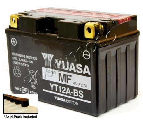 Picture of Battery Yuasa YT12A-BS Maintenance Free