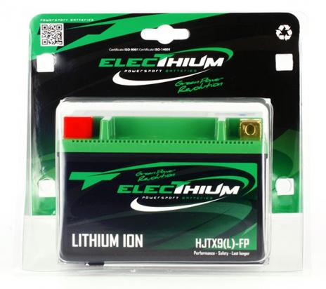 Picture of Kawasaki ZX-6R (ZX 600 RGF) 16 Lithium Ion Battery By Electhium