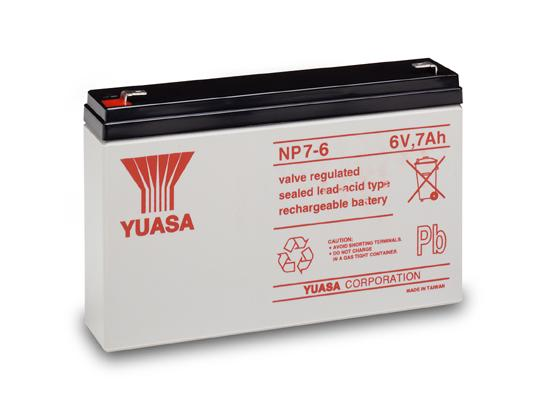 Picture of Battery Yuasa NP 7-6 YU