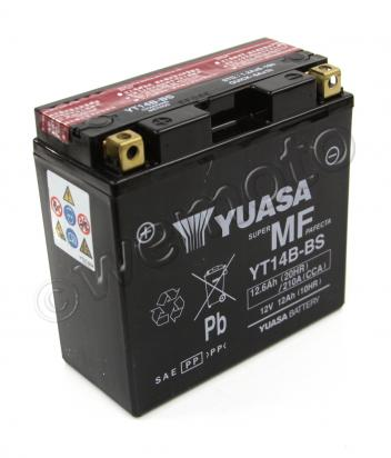 Picture of Battery Yuasa YT14-B4 / YT14B-BS Maintenance Free