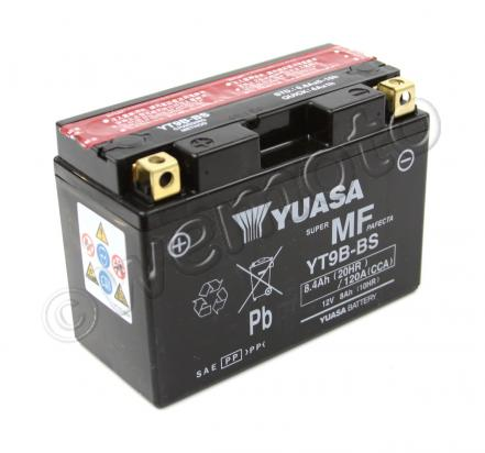 Picture of Battery Yuasa YT9B-BS Maintenance Free
