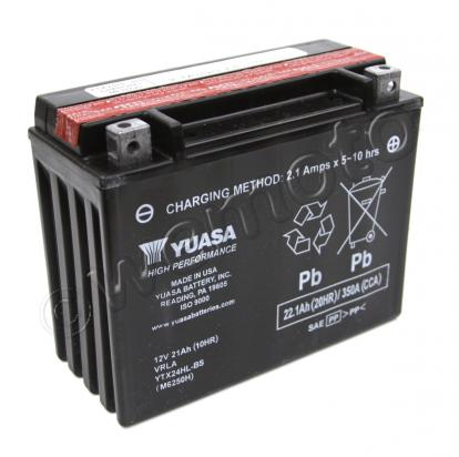 Picture of Battery Yuasa YTX24HL-BS Maintenance Free