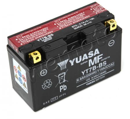 Picture of Battery Yuasa YT7B-BS Maintenance Free