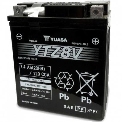Picture of Honda NSS 125 Forza ABS 17 Battery OEM