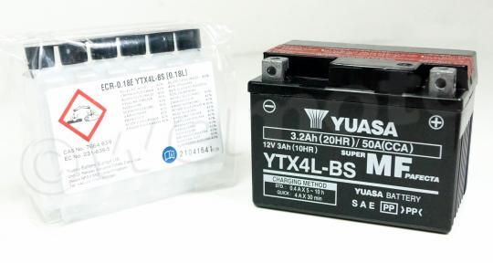 Picture of Yamaha CY 50 Jog-in 91-95 Battery Yuasa