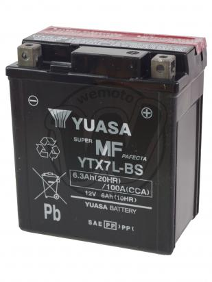 Picture of Yamaha XT 125 X 08 Battery Yuasa