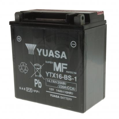 Picture of Battery Yuasa YTX16-BS-1 Maintenance Free