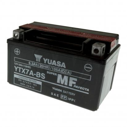 Picture of Kawasaki Z 125 19 Battery Yuasa High Performance Maintenance Free