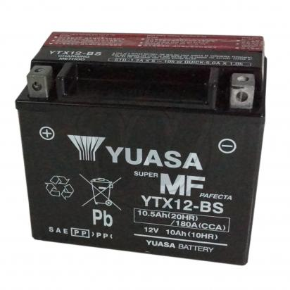 Picture of Battery YUASA YTX12-BS Maintenance Free