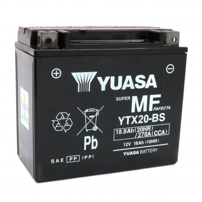 Picture of Battery Yuasa YTX20-BS Maintenance Free