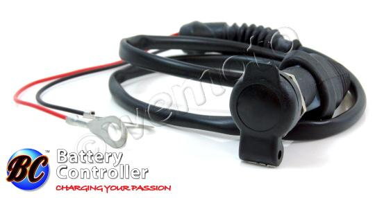 Picture of Cigarette Socket Auxiliary Power cable DIN/ISO 4165 BMW Type By BC