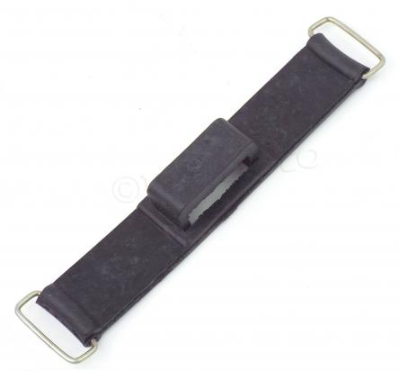 Motorcycle Battery Band Rubber Strap 155mm Long x 23mm Wide - Fuse Holder Enclosed