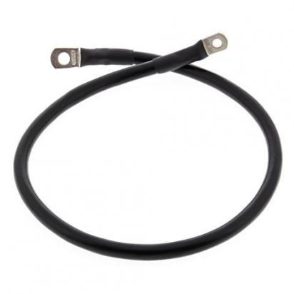 Motorcycle Battery Cable All Balls USA 25 inch 635mm Black