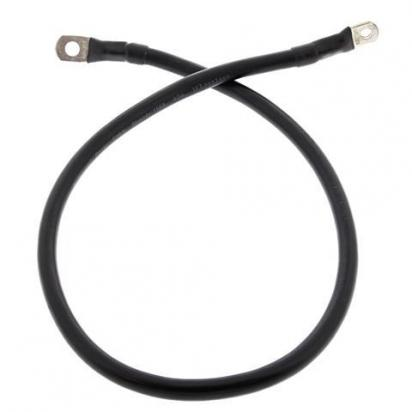 Motorcycle Battery Cable All Balls USA 30 inch 762mm Black