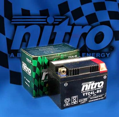 Battery Nitro AMG Gel Super Sealed Maintenance Free