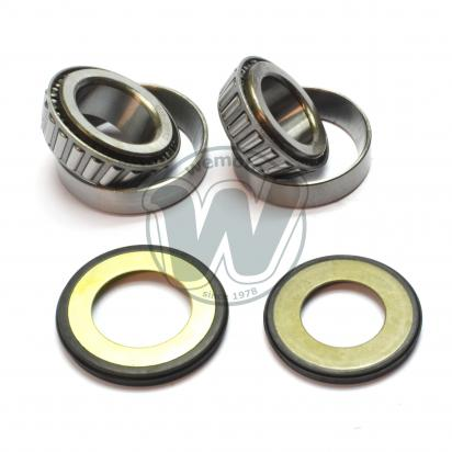 Picture of Tapered Headrace Bearing and Seal Kit - 25x47x15mm 30x55x17mm - Aprilia various models