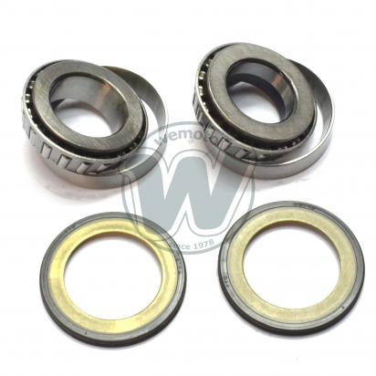 Picture of Tapered Headrace Bearing and Seal Kit - 25x48x16mm 27x48x14mm - Suzuki 1970s various models