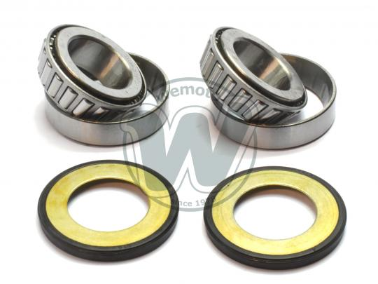 Picture of Tapered Headrace Bearing and Seal Kit - 28x52x16.5mm x 2 - BMW Suzuki Yamaha various models