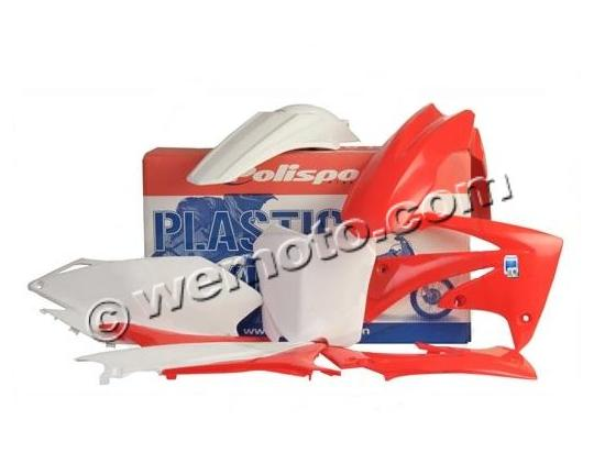 Picture of Body Kit Polisport - Complete - Red/White