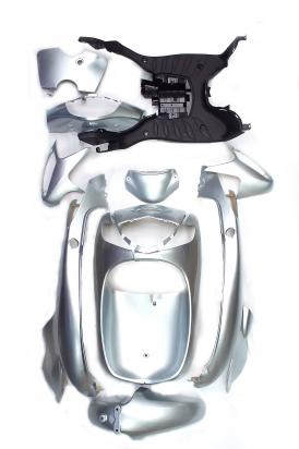 Fairing Kit Injection Silver