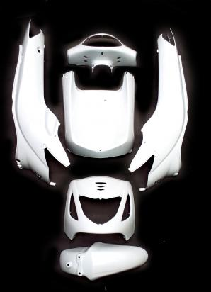 Picture of Fairing Kit Injection Pearl White