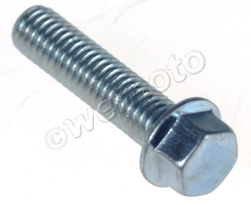 Picture of Bolt Hexagon Flanged Metric M6 x 25mm Thread Uses 8mm Spanner