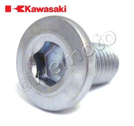 Picture of Kawasaki KMX 125 B10 (French Market) 99 Mounting Bolt - Front Disc - OEM