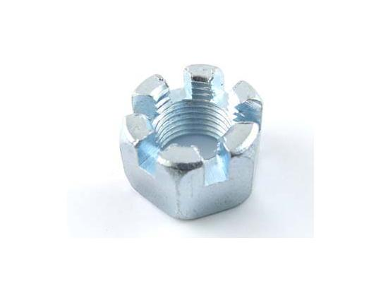 Picture of Castle Nut Metric M10 Thread Uses 17mm Spanner