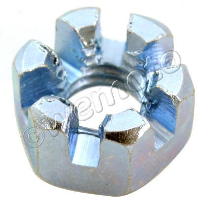 Picture of Castle Nut Metric M8 Thread uses 12mm Spanner