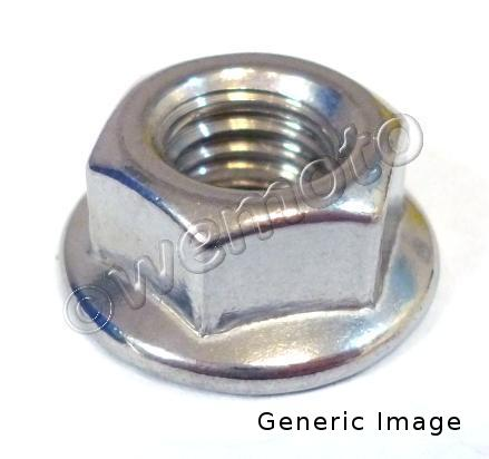 Picture of Flange Nut - As Yamaha - 90179-12244   90179-12659