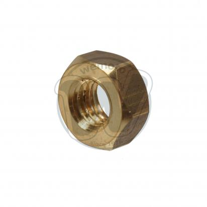 Picture of Nut Brass Metric M6 Thread