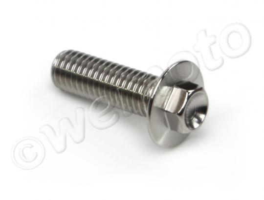 Picture of Hex Disc Bolt Metric M8 x 25mm, Yamaha Stainless Steel