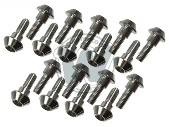 Mounting Bolt- Front and Rear Disc - Stainless Steel- Full Set