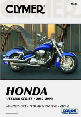 Clymer Manual - Honda VTX1800 Series 2002-2008