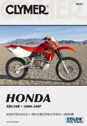 Clymer Manual - Honda XR650R 2000-2007