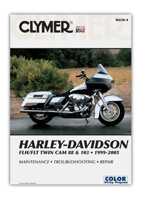 Picture of Clymer Manual - Harley Davidson FLH/FLT Twim cam 88 & 103 1999-2005