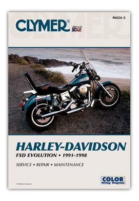 Picture of Clymer Manual - Harley Davidson FXD Evolution 1991-1998