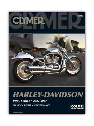 Picture of Clymer Manual - Harley Davidson VRSC Series 2002-2007