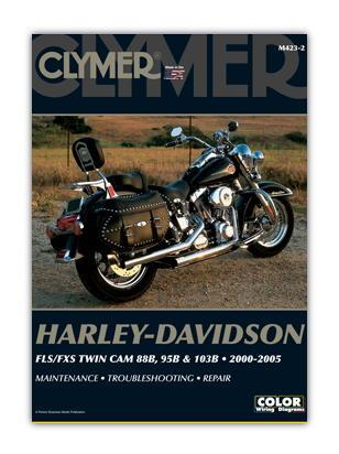 Picture of Clymer Manual - Harley Davidson FLS/FXS Twin Cam 88B 95B & 103B 2000-2005