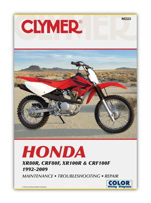Picture of Clymer Manual - Honda XR80R CRF80F XR100R CRF100F 1992-2009