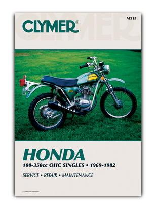Picture of Clymer Manual - Honda 100-350cc OHC Singels 1969-1982